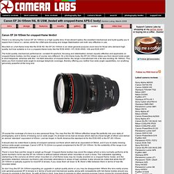 Canon EF 24-105mm f/4L IS USM with EOS 400D/XTi, EOS 40D review Cameralabs verdict