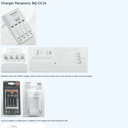 Review of Charger Panasonic BQ-CC16