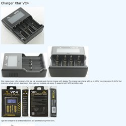 Review of Charger Xtar VC4