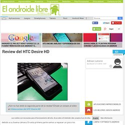 Review del HTC Desire HD