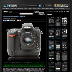 Nikon D3S Review: 1. Introduction