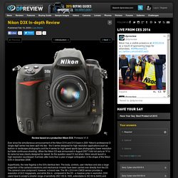 Nikon D3x Review: 1. Introduction