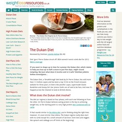 Review – The Dukan Diet Regime by Dr Pierre Dukan