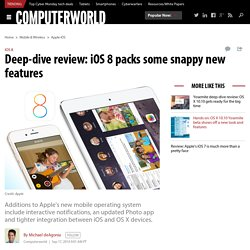 Deep-dive review: iOS 8 packs some snappy new features