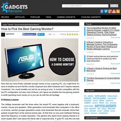 A review of 7 best gaming monitors under $500