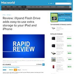 Review: iXpand Flash Drive adds easy-to-use extra storage to your iPad and iPhone
