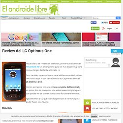 Review del LG Optimus One
