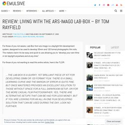 Review: Living with the ars-imago Lab-Box - by Tom Rayfield
