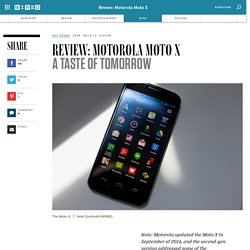 Review: Motorola Moto X Android Phone