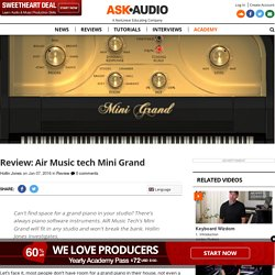 Air Music tech Mini Grand