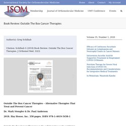 Book Review: Outside The Box Cancer Therapies – ISOM