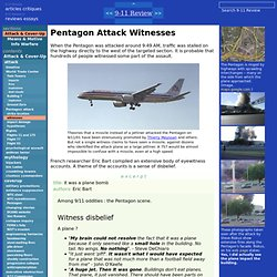 9-11 Review: Pentagon Attack Witnesses