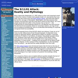 9-11 Review: The 9-11-01 Attack:Reality and Mythology