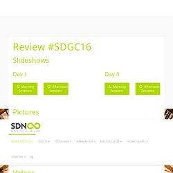 Review #SDGC16