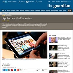 Apple's new iPad 3 – review