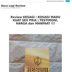 TESTIMONI, HARGA dan MANFAAT !!! – Baca Lagi Review