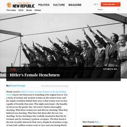 Hitler's Furies Reviewed by Michael Kimmage