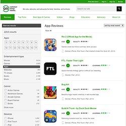 App Reviews - Kids Apps
