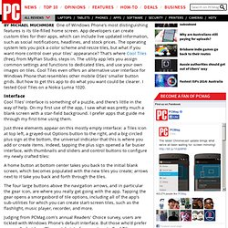 Reviews and Price Comparisons from PC Magazine of Windows Phone Apps: Cool Tiles (for Windows Phone)