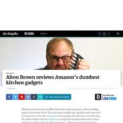 Alton Brown reviews Amazon's dumbest kitchen gadgets