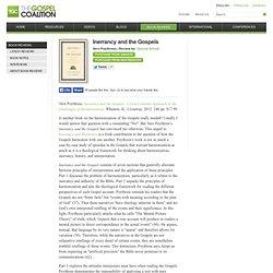 Review: Inerrancy And The Gospels - The Gospel Coalition