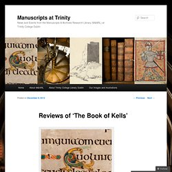 The Book of Kells - Manuscripts at Trinity