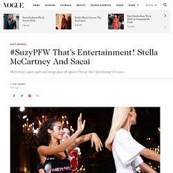 Suzy Menkes reviews Stella McCartney spring/summer 2017 Paris Fashion Week