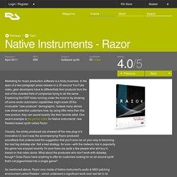 RA Reviews: Native Instruments - Razor (Tech)