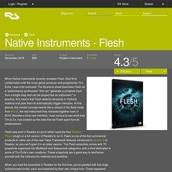 RA Reviews: Native Instruments - Flesh (Tech)