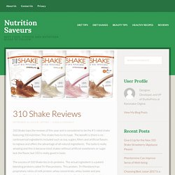 Meal replacement shakes reviews
