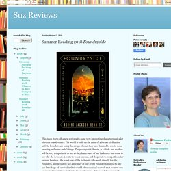 Suz Reviews: Summer Reading 2018 Foundryside
