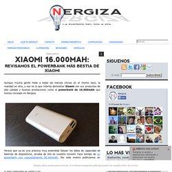 Xiaomi 16.000mAh: Revisamos el powerbank más bestia