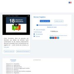 MOOC PERMANENT - Réviser l'algèbre