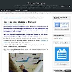 Des jeux pour réviser le français