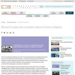 Réviser la place du nucléaire dans la France d'après…
