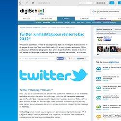 Réviser le bac 2012 sur Twitter grâce à un hashtag
