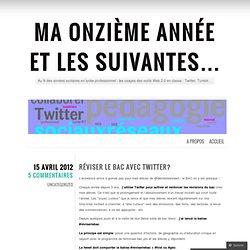 L. Juin Enseignante - usages outils Web 2.0 en classe : Twitter, Tumblr