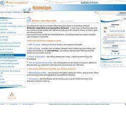 Réviser : des sites utiles - Mathématiques