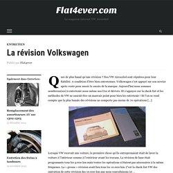 La révision Volkswagen - Flat4ever.com