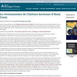 Le révisionnisme de l\\\'histoire bretonne d\\\'Alain Croix