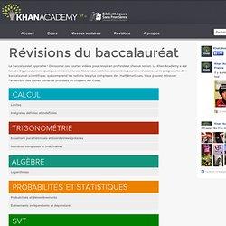 Révisions du baccalauréat