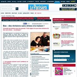 Bac : des révisions sans stress à la maison ! - Bac - Le Parisien Etudiant