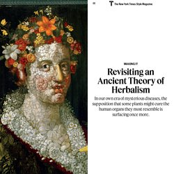 Revisiting an Ancient Theory of Herbalism