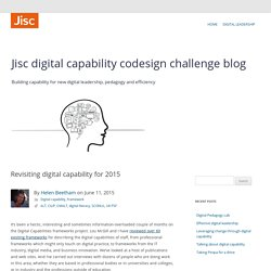 Jisc digital capability codesign challenge blog
