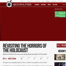 Revisiting The Horrors Of The Holocaust