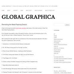 Global Graphica » Revisiting the Meat Packing District