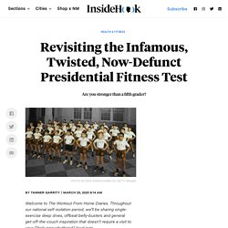 A Fitness Editor Revisits the Infamous Presidential Fitness Test
