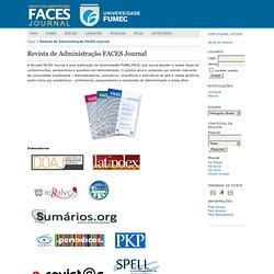 Revista de Administração FACES Journal