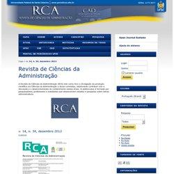 Revista de Ciências da Administração