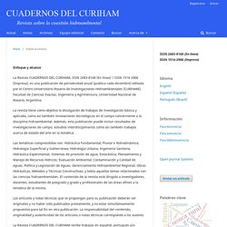 Cuadernos del CURIHAM